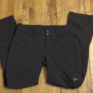 REI nylon and spandex outdoor pants